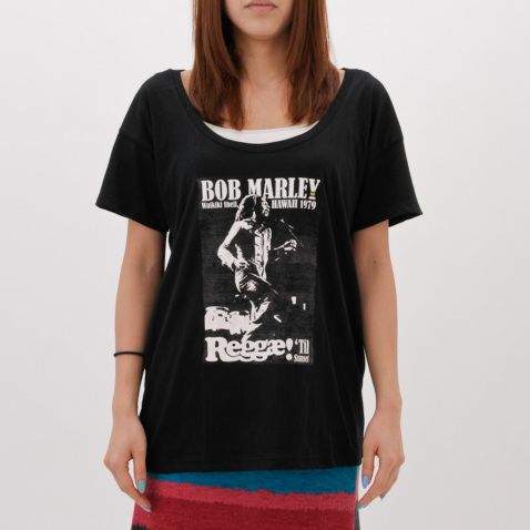 BILLABONG 2012春夏 ガールズ BOB MARLEY X BILLABONG SURVIVAL TEE